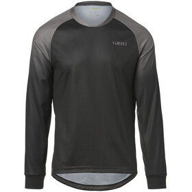 Giro Roust LS Jersey Men black/charcoal transition